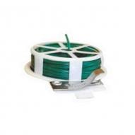 Alambre plastificado verde bobina