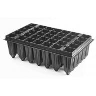 Bandeja Forestal P&G 35 alveolos de 350cc, color negro