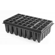 Bandeja Forestal P&G 40 alveolos de 220cc, color negro