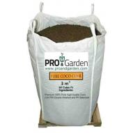 Cocopeat hidratado mix chips (súper grueso) 35% + turba rubia 0-40 65%