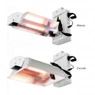 Kit Iluminación Phantom LP DE 1000W MODELO PLANO (Balastro + Reflector + Bombilla)