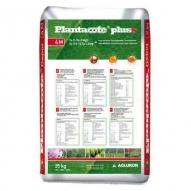 Fertilizante liberación controlada 2 meses Plantacote Pluss 14-9-15+2MgO+micros SQM, saco de 25kg