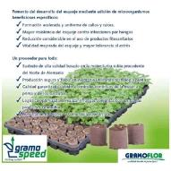 * GramoSpeed 4,0 (40x40mm) Paperpot Spezial +perl +MO en bandeja (535x310x40mm) de 60 alveolos