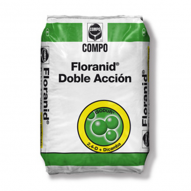 Fertilizante FLORANID DOBLE ACCION 15-5-8 + 3 Mg + Herbicida selectivo