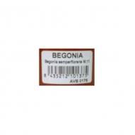 * Etiqueta Codigo de Barras 40x24 mm para macetas Deco de 2,5 y 5 litros, UNIDAD